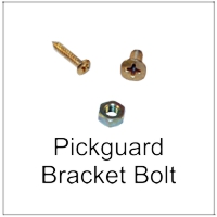 Screws and Bolts for Pickguard Brackets