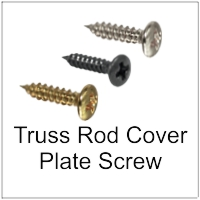 Screws for Truss Rod Covers and other trim