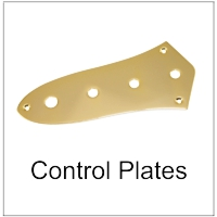 Control Plates and Covers for Guitars and Bass