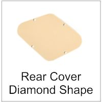 Rear Contol Cavity Cover Diamond Shape