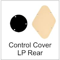 Rear Control Cover for LP Guitars