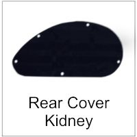 Rear Cavity Cover for Guitar Kidney Shape