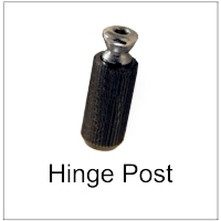 Hinge Post for 2 point bridges