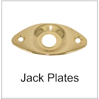 Jack Plates for Electric Bass and Guitar