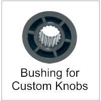 Bushings for Custom Guitar and Bass Knobs