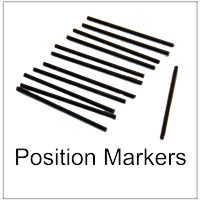 Position Markers for Guitar and Bass Necks