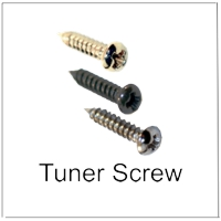 Screws for Tuners and Truss Rod Covers