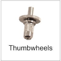 Thumbwheel for guitars
