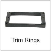 Trim Rings for Electric Guitars
