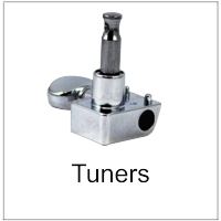 Machine Head Tuners for Guitars